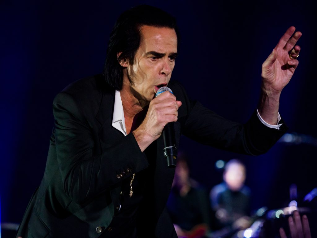 Nick Cave and The Bad Seeds performance at Primavera Sound 2018, Parc del Forum, Barcelona.