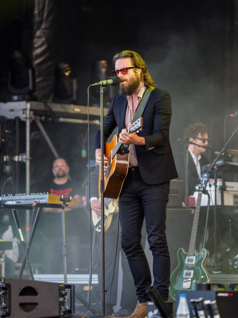 Father John Misty performance at Primavera Sound 2018, Parc del Forum, Barcelona.